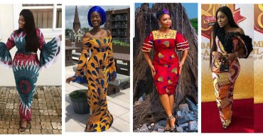 Ankara Dresses Perfect For Church This Sunday