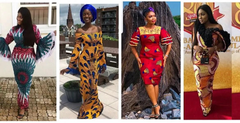 Ankara Dresses Perfect For Church This Sunday