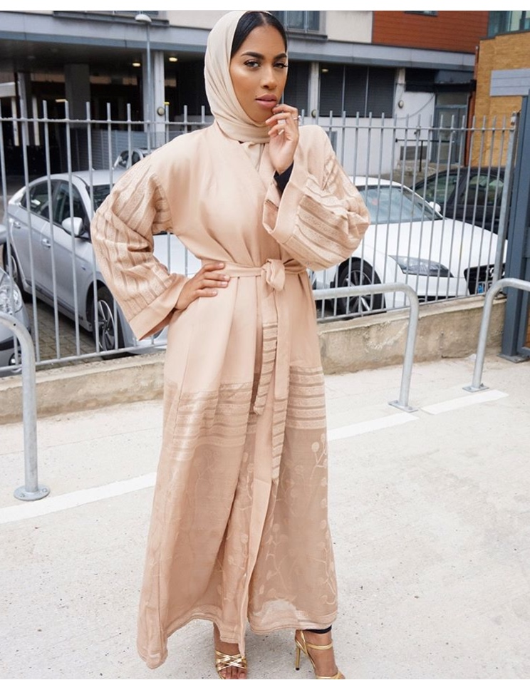 Modest And Stylish Sallah Outfit Lookbook For The Muslim Woman