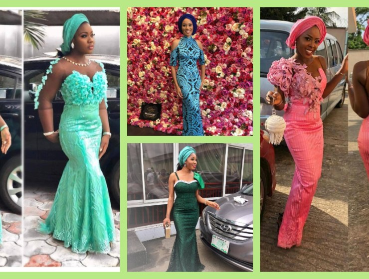 We Saw The Best Lace Asoebi Styles Off The Gram Over The Weekend