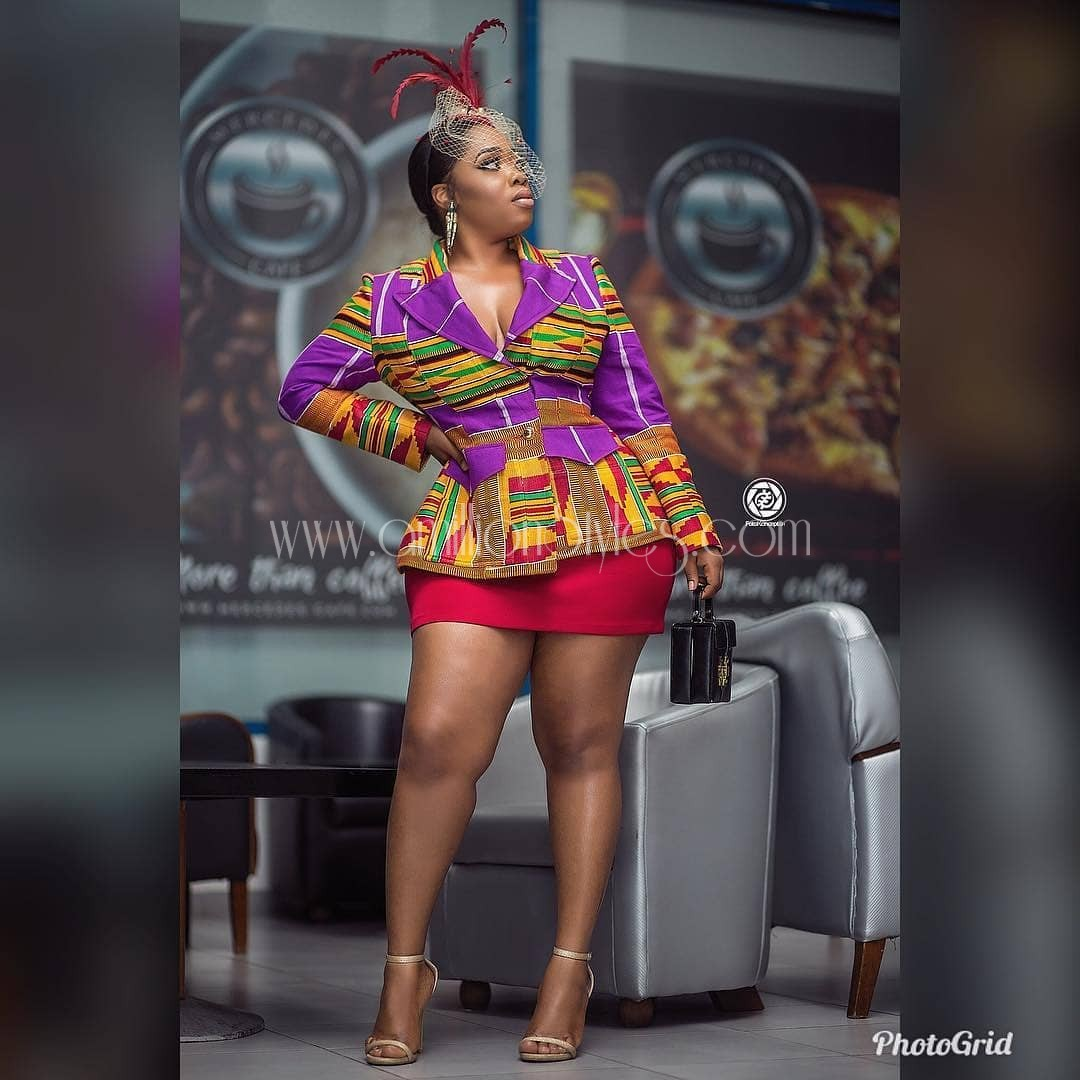 We Are Getting These Ankara Tops Styles In Formation.