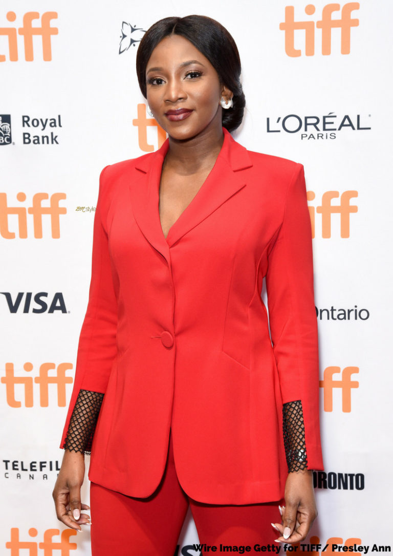 Genevieve Nnaji Looks Absolutely Stunning For The Premiere Of Her New Movie