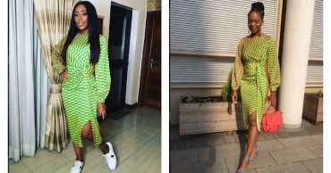 Who Wore It Better? Dakore Egbuson & Zainab Balogun In Nigerian Design Label Grey