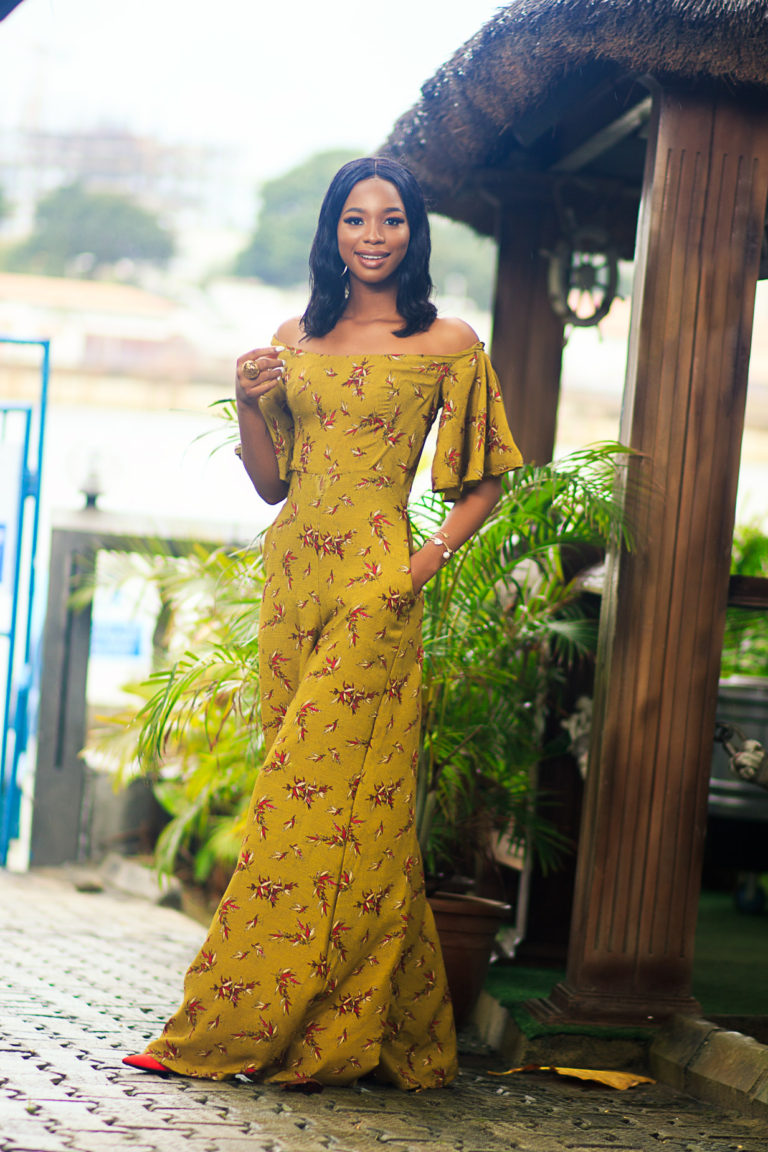 Angel Obasi Is The Muse For Fashion Brand Ochulo Latest Collection