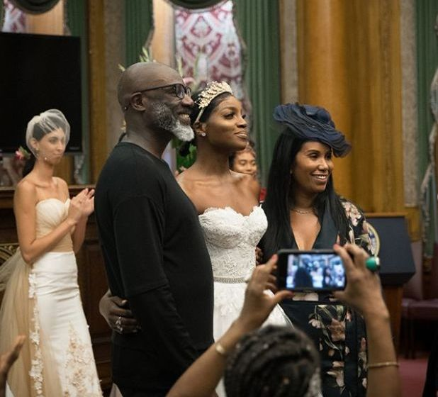 Seyi Shay Looks Like A Gorgeous Bride As She Walks The Runway Of NYFW 2018