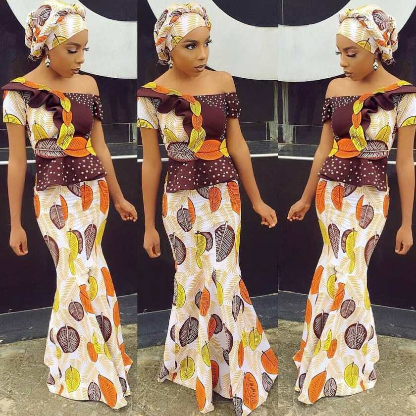 All Your WCW Rocking The Fanciest Ankara Styles