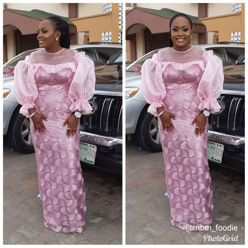 It's An Owambe Saturday, Party Hard In These Lace Asoebi Styles