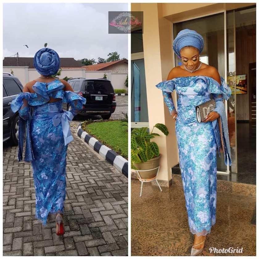 These 12 Lace Asoebi Styles Have Are Smoking Hawt!
