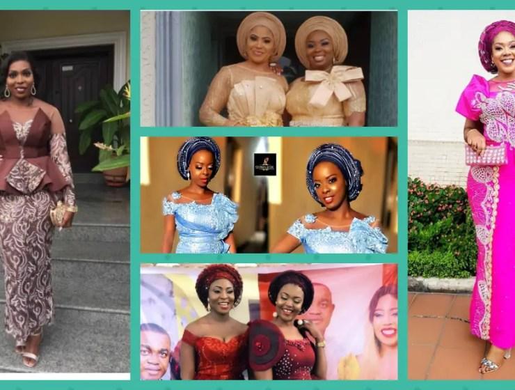 Fabulous Asoebi Styles Ideas For Older, Mature Women Lookbook 3
