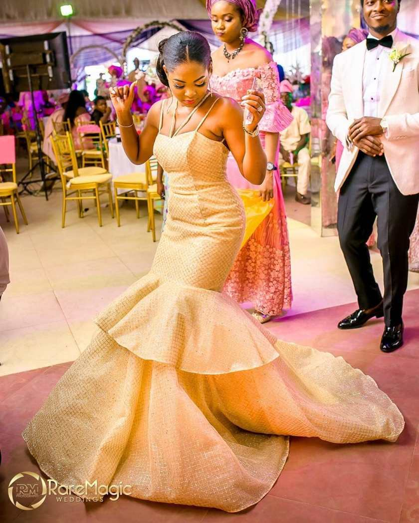 One Word For These Trendy Bridal Reception Outfits: Wow!!