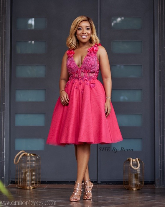 Joselyn Dumas Is Perfect For She By Bena's Pink October Lookbook