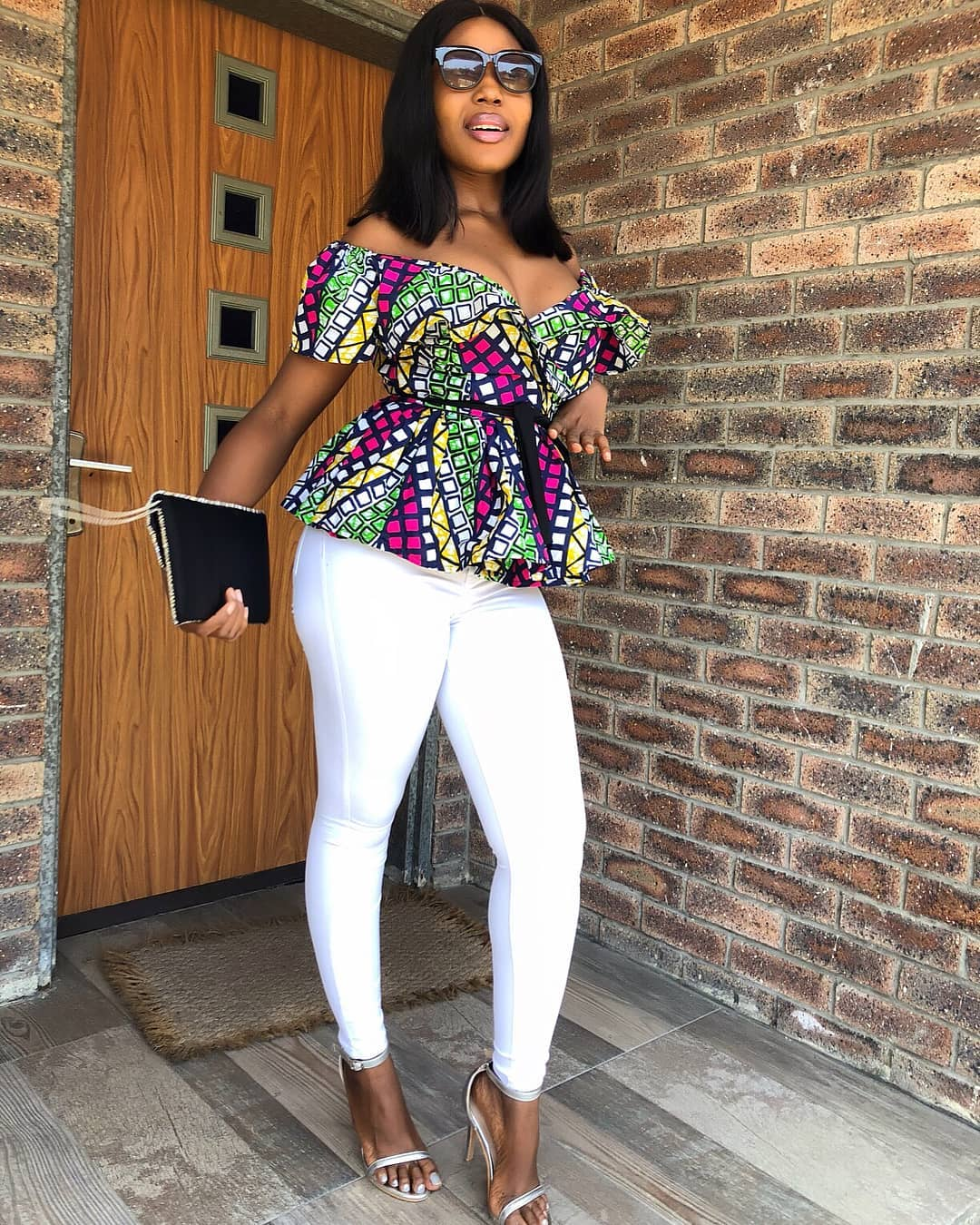 10 Stylish Ankara Blouses For Chics