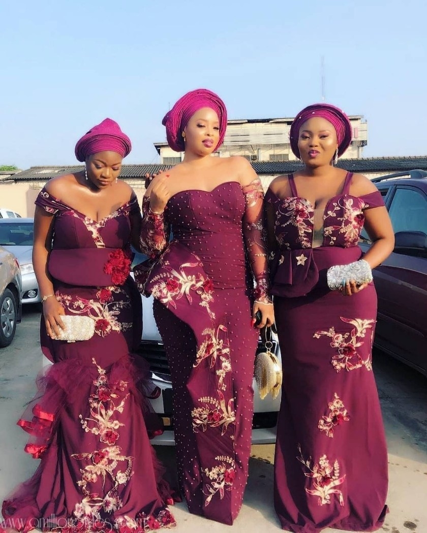 Asoebi Bellas Are An Awesome Part Of Wedding Parties
