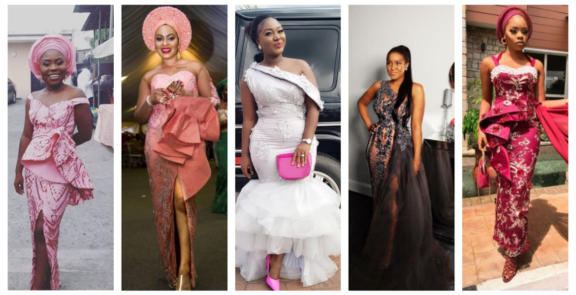 Coming At You Like Bangdadadang In The Sweetest Lace Asoebi Styles