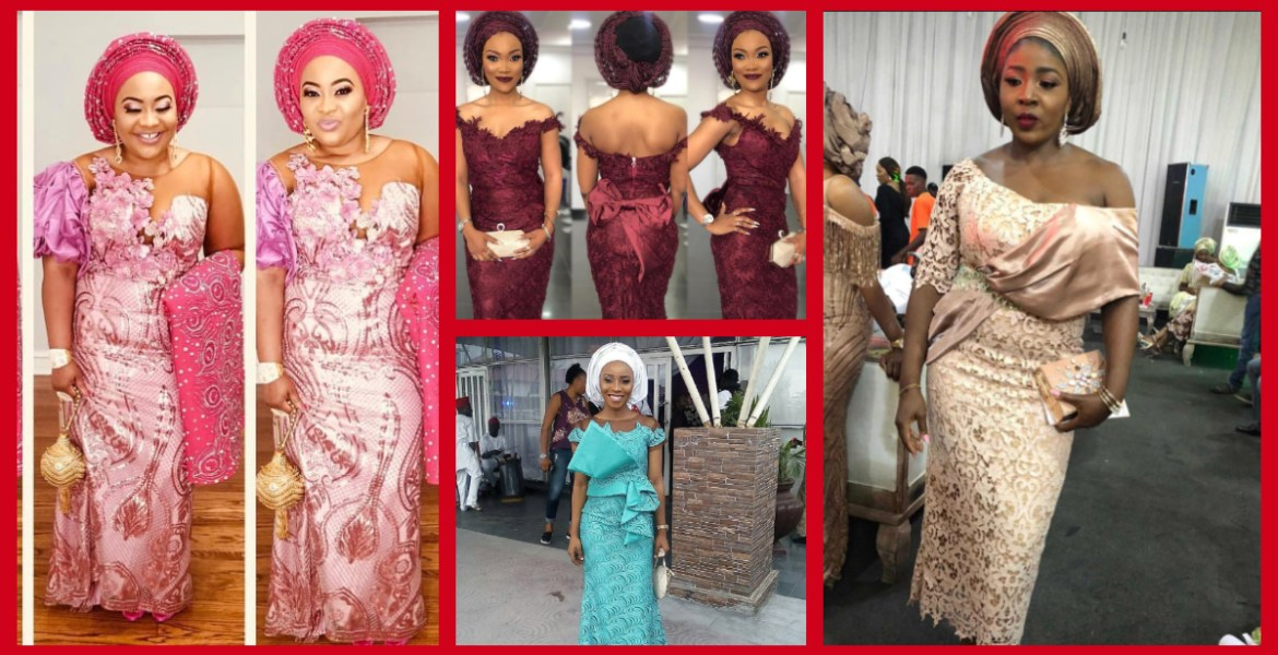 Fabulous Asoebi Styles Ideas For Older, Mature Women Lookbook 4