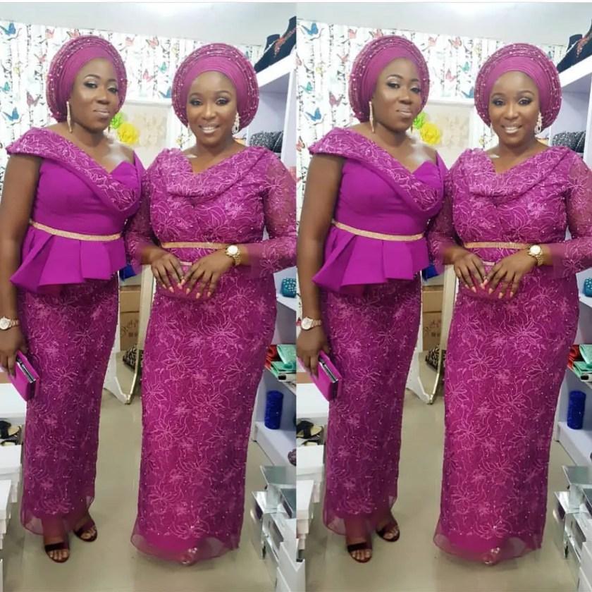 Fabulous Asoebi Styles Ideas For Older, Mature Women Lookbook 4