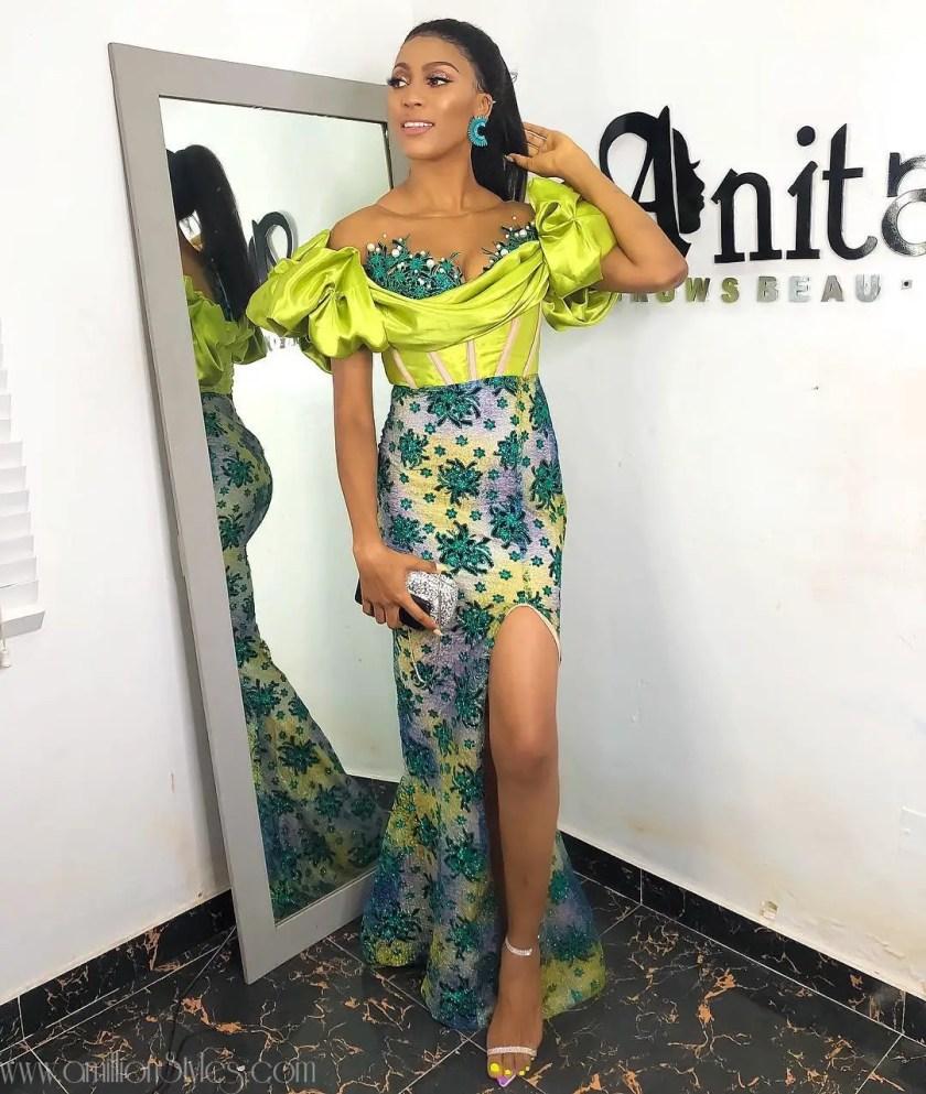 10 Fascinating Lace Asoebi Styles