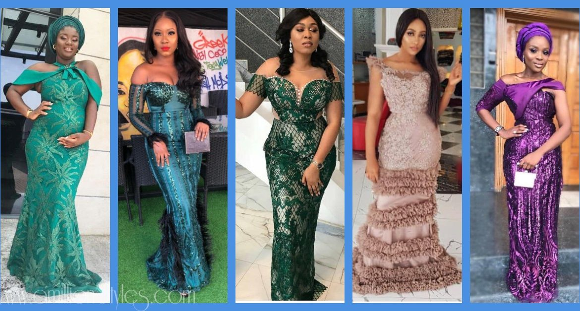 It's A Saturday And We Only Rock Lace Asoebi Styles For Owambes
