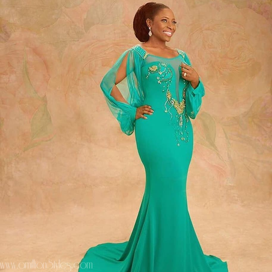 Starting Off The Week With Some Scintillating Nigerian Made Dresses
