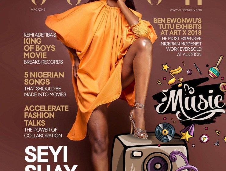 Seyi Shay Gives Off Melanin Vibes On Accelerate TV's 'The Cover' For November 2018