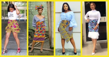 10 Fashionable Ankara Skirts