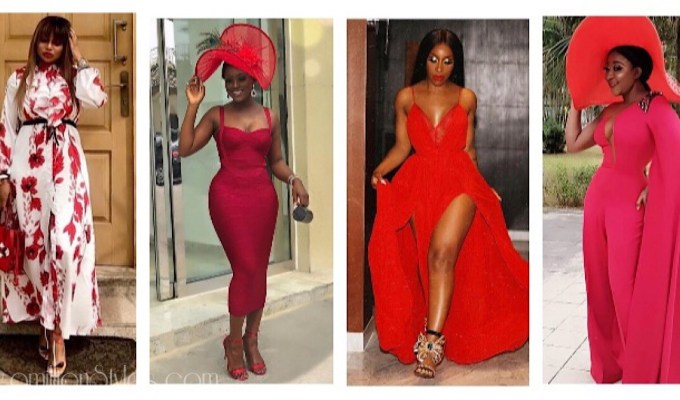 How Our Favourite Fashionistas Wore Red This Season