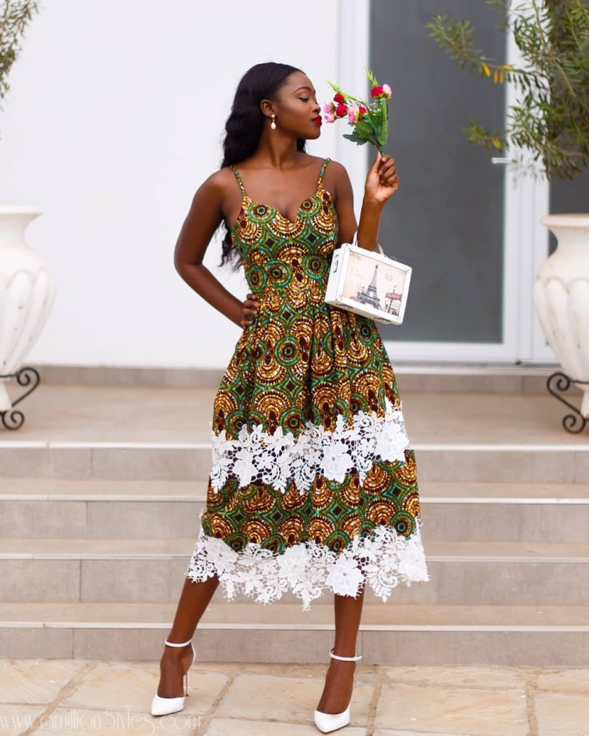 Stylish Ankara Looks Off The 'Gram