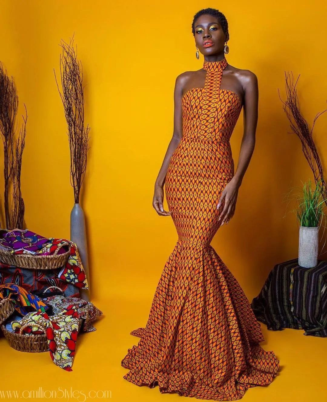 10 Stylish Ankara Dresses