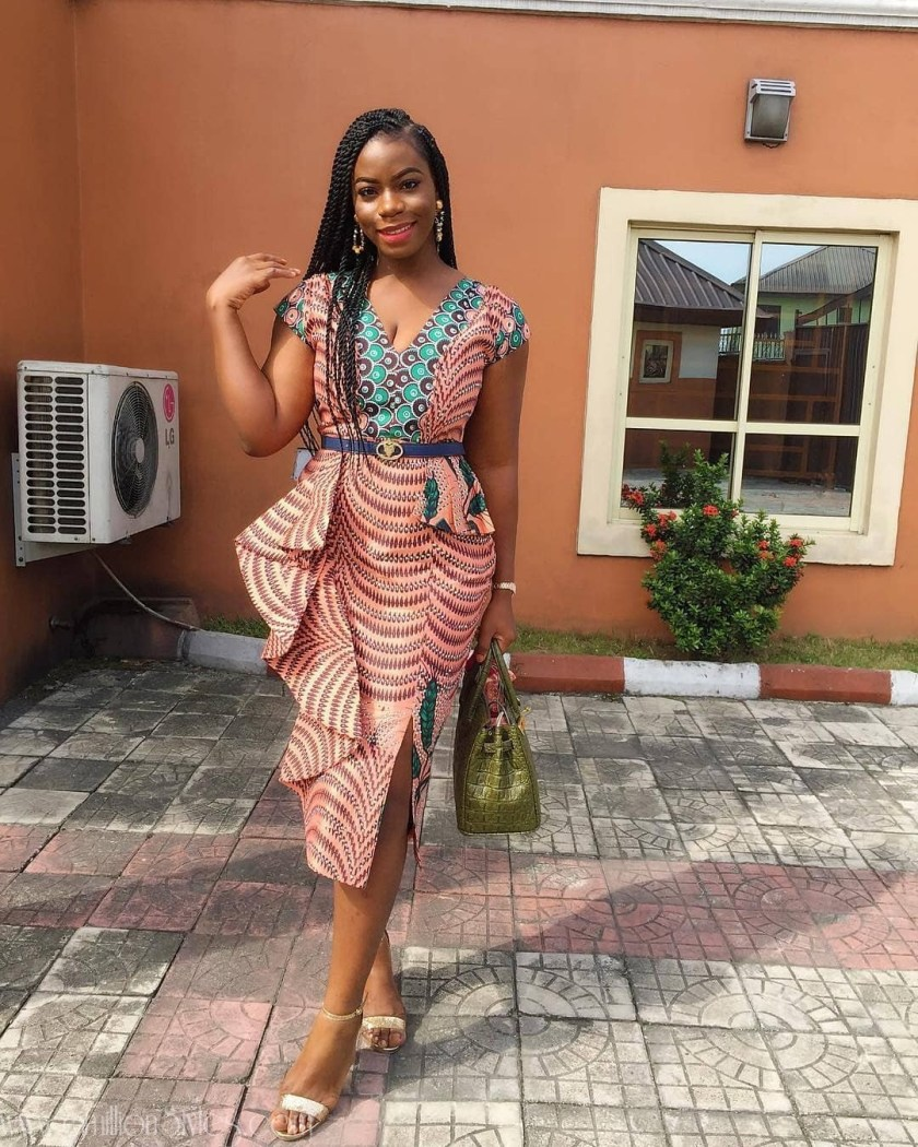 We Are Hooking You Up With Festive Season Ankara Styles  LADIES!!! CHECK OUT AWESOME ANKARA STYLES FOR REAL FASHION LOVERS ankara  pinimaisokariari in dress by  adanbypinima amillionstyles