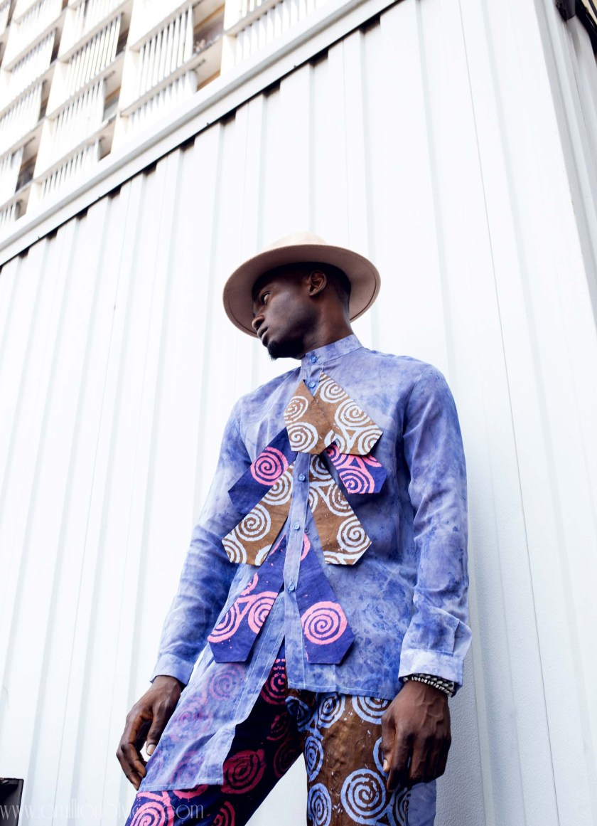 Ifi Alexander Goes Unconventional In His SS19 Menswear Lookbook
