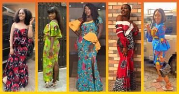 Latest Ankara Gowns For Ladies