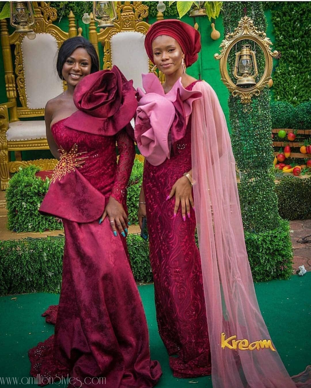 Latest Lace Asoebi Styles Volume 9 beauties! check out these dazzling aso ebi styles would turn heads at any owambe BEAUTIES! CHECK OUT THESE DAZZLING ASO EBI STYLES WOULD TURN HEADS AT ANY OWAMBE asoebi 1 amillionstyles 2