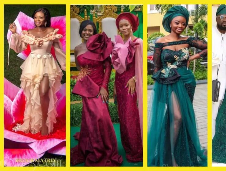 Latest Lace Asoebi Styles Volume 9