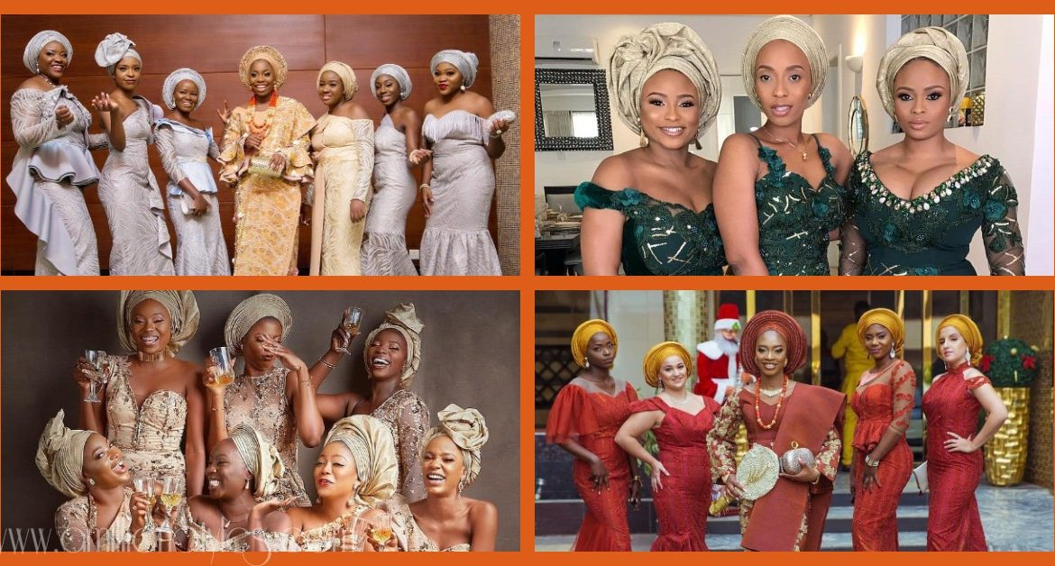 Friends Are The Spice Of Life And These Asoebi Bellas Are Hawt!
