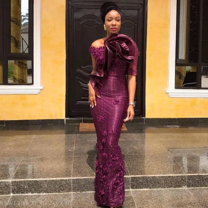 10 Befitting Lace Asoebi Styles For Weddings