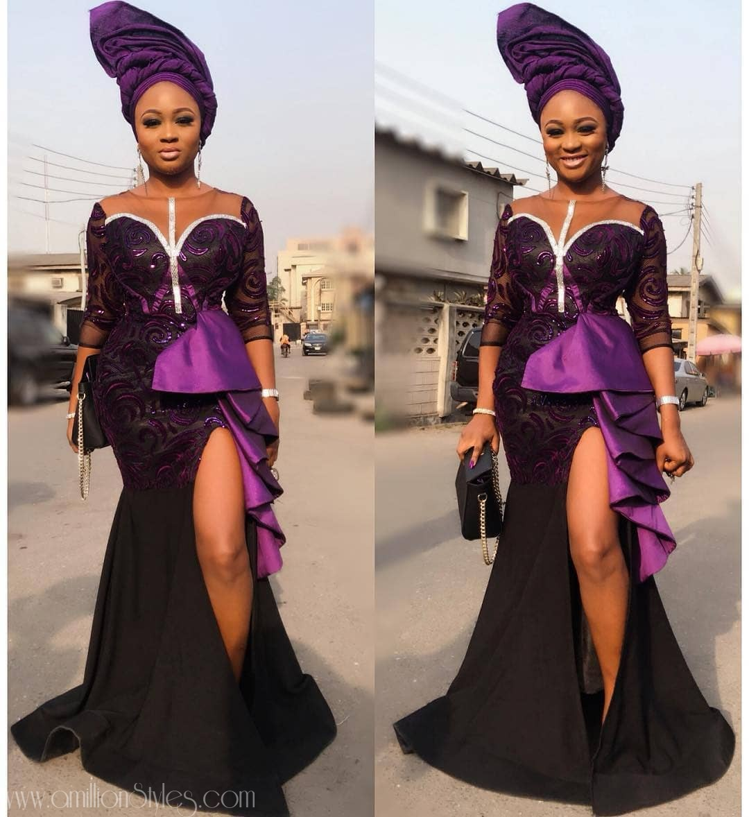 Latest Lace Asoebi Styles Volume 1