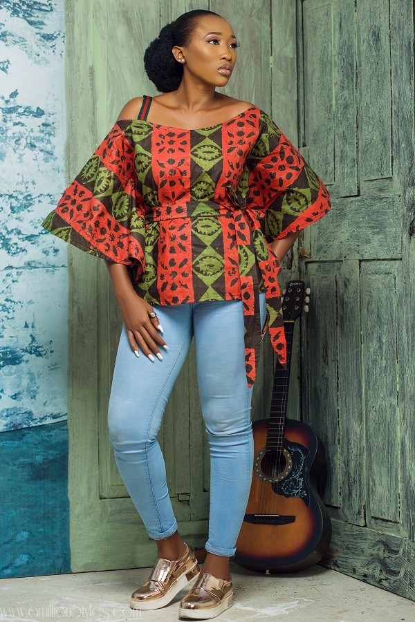 Ebun Oladoye And Yomi Casual Spin An Adire-Filled Extravaganza In New Collection