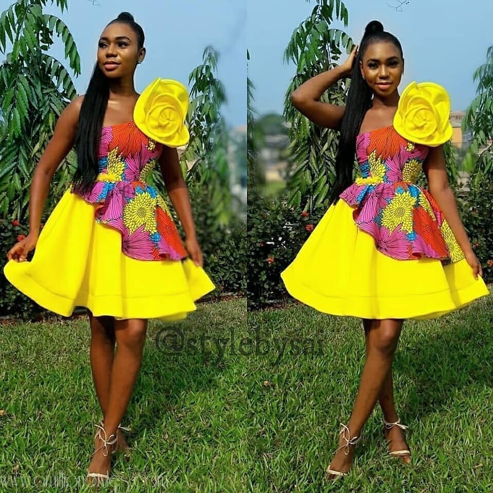 Enjoy These 10 Lovely, Sweet Ankara Styles