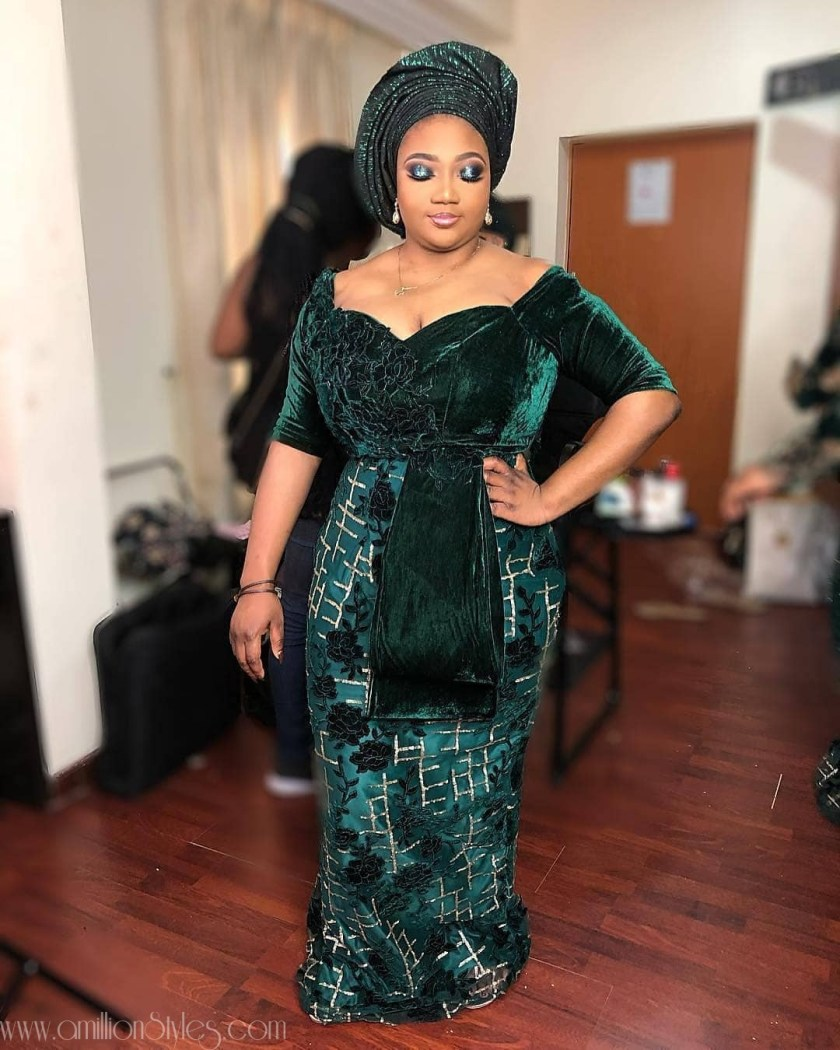 Latest Lace Asoebi Styles Volume 13  Check Out Fashionable And Classy Lace Asoebi Styles asoebi  ayinke mylova amillionstyles