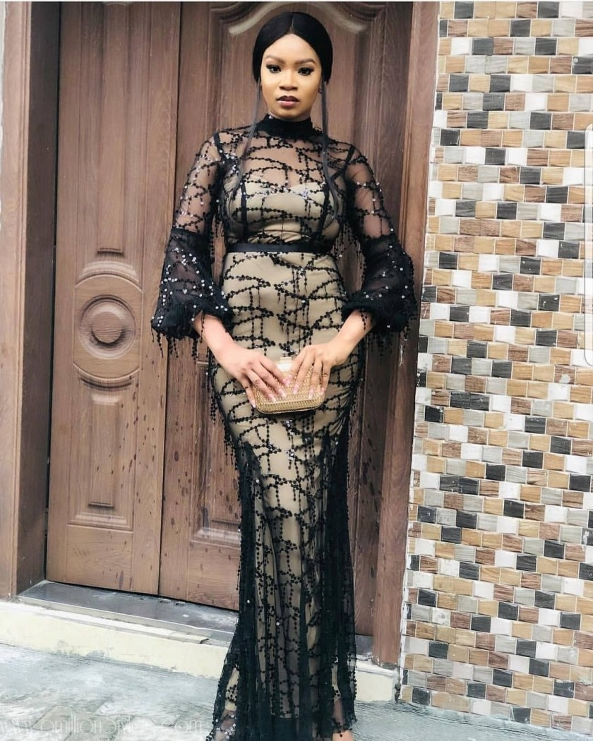 Latest Lace Asoebi Styles Volume 13  Check Out Fashionable And Classy Lace Asoebi Styles asoebi  pritisholz amillionstyles