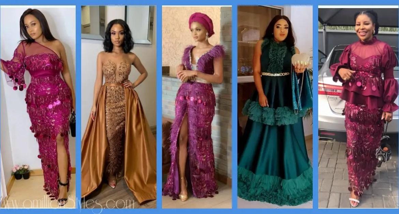Latest Lace Asoebi Styles Volume 11