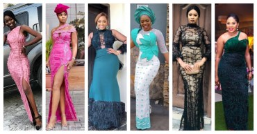 Latest Lace Asoebi Styles Volume 13