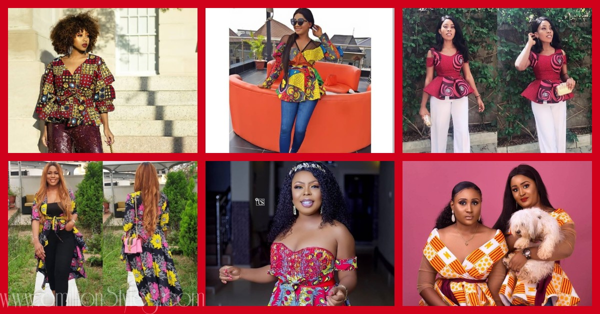 Stay Slaying In Awesome Ankara Tops