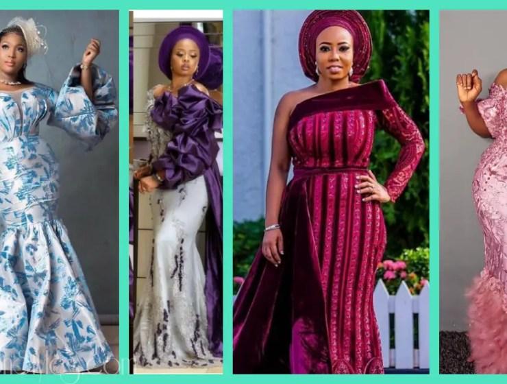 Latest Lace Asoebi Styles Volume 19