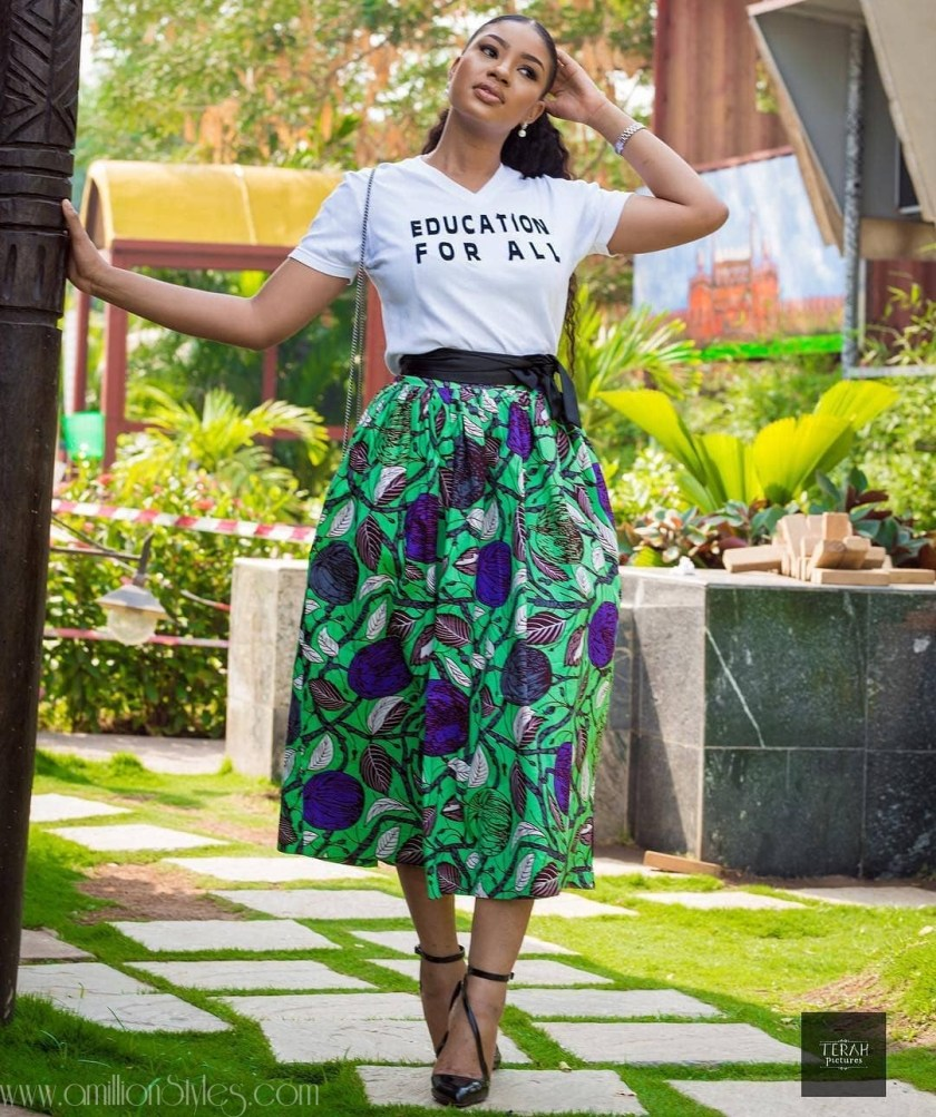 Love Skirts? These Hawt Ankara Skirts Are Just Right!