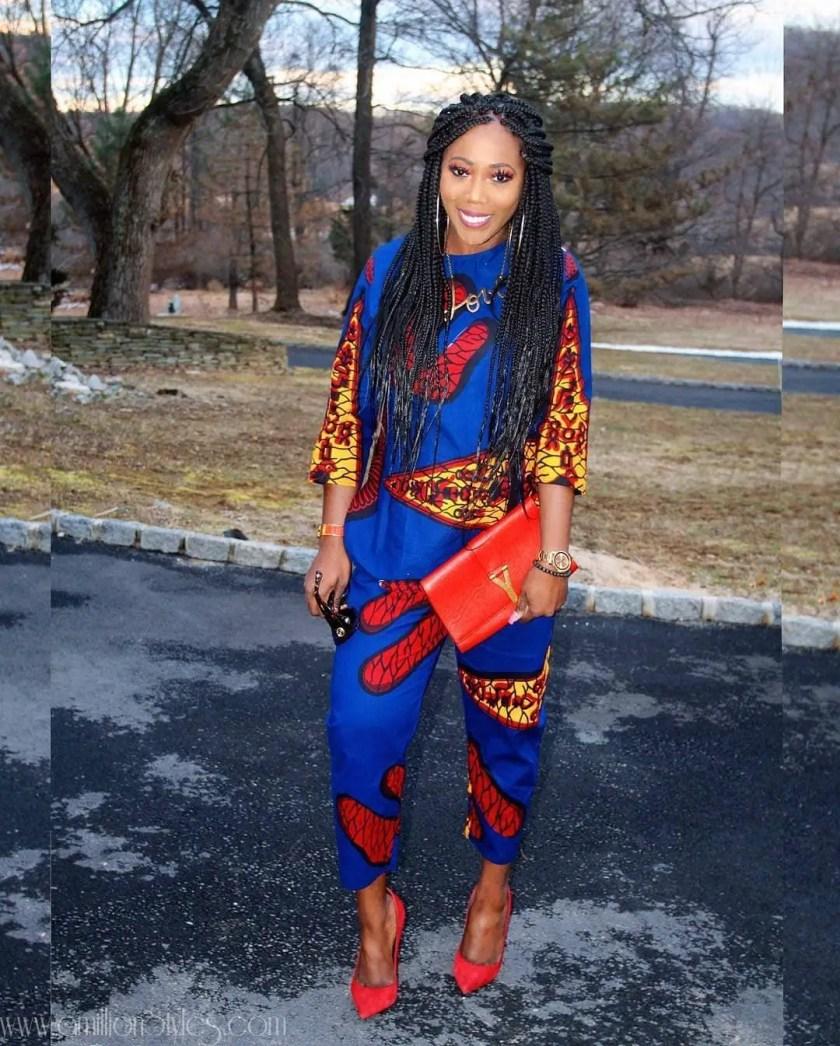 10 Fashionable Ankara 2-Piece Styles