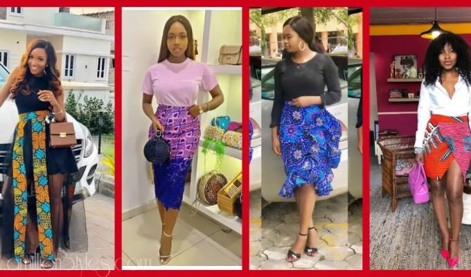10 Fashion Forward Ankara Skirts