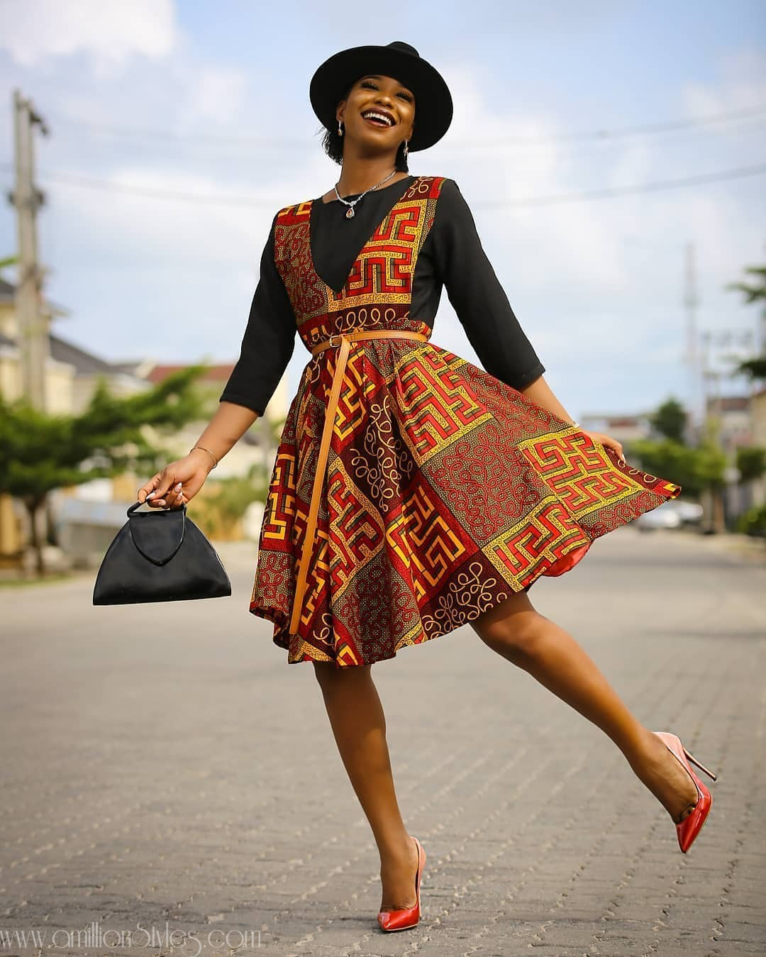 12 Short Chic Ankara Dresses