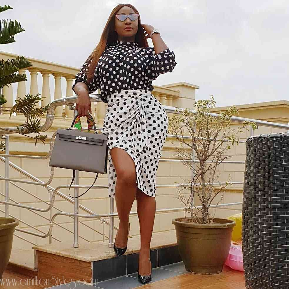 Tips On How To Rock Polka Dot Outfits