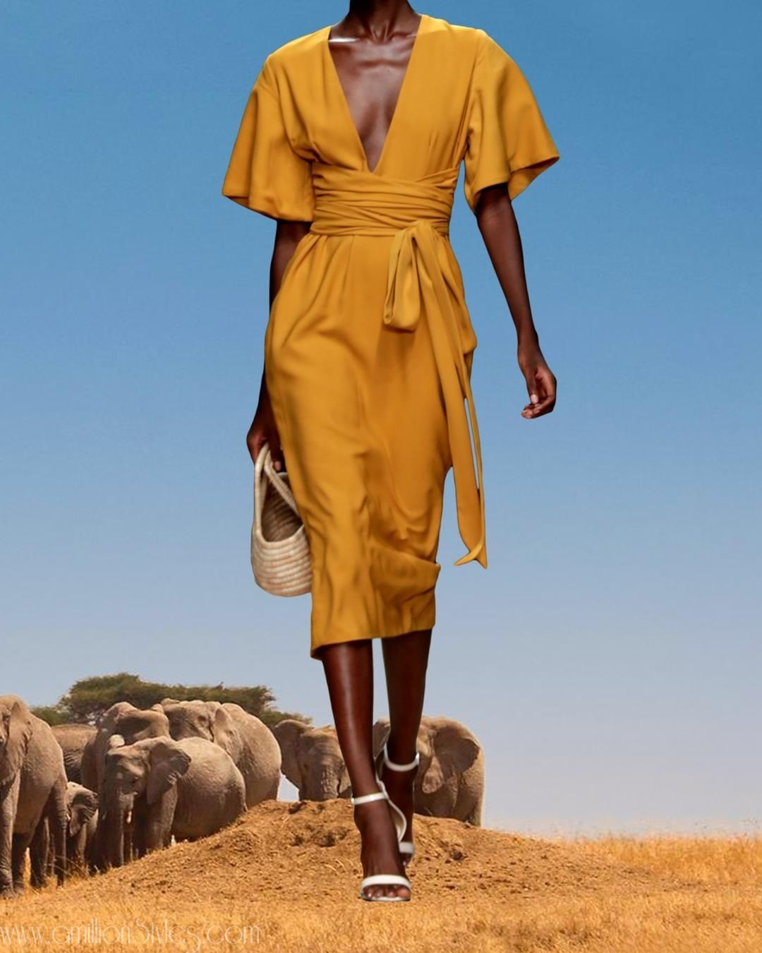 """Andrea Iyamah Hits Us With The """"Wild Woman"""" Collection For Spring/Summer 19"""